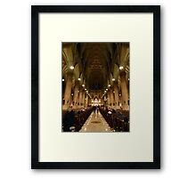 NYC Cathedral Framed Print