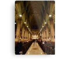 NYC Cathedral Metal Print