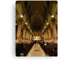 NYC Cathedral Canvas Print