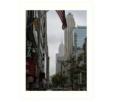 NYC Empire State Building Art Print