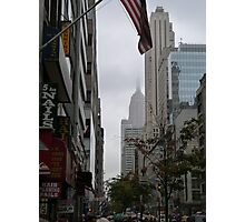 NYC Empire State Building Photographic Print