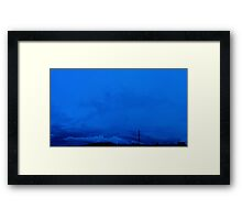 ©HCS Blue Tones And Tower Framed Print
