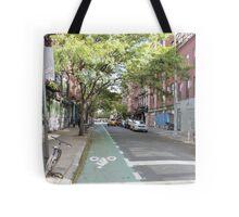 Quiet Manhattan NYC Street Tote Bag