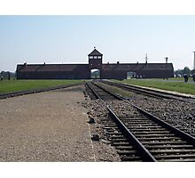 Entrance to Hell (Auschwitz concentration camp) Photographic Print