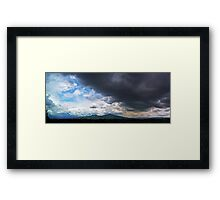©HCS The Hill In Rain Season Framed Print