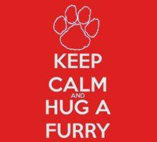 keep calm and hug  fur by tatu