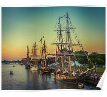 Tall Ship Celebration Poster