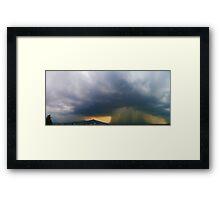 ©HCS Cumulonimbus Precipitatus July 11-1 Framed Print
