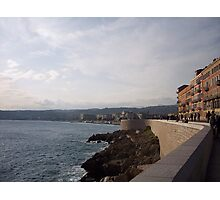 Sunset on the French Riviera Photographic Print