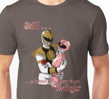Twilight Rangers White Ver. Shaded Unisex T-Shirt