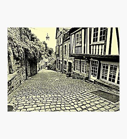 Dinan streetscape Photographic Print
