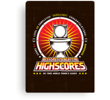 The Highscore Spot  Canvas Print