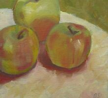 Apples Dappled by Anne Small
