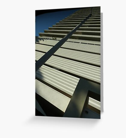 LA Skyscraper Greeting Card