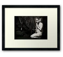 Bacchus Fox Framed Print