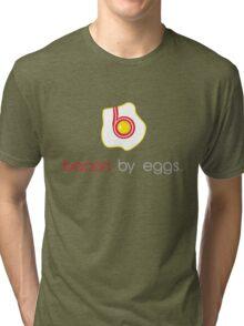 bacon by eggs Tri-blend T-Shirt