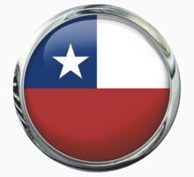 Chile Flag by 3Dflags