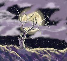 Nighttime Sentinel by EllieTaylorArt