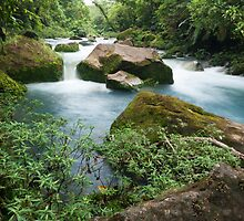 Rio Celeste in Costa Rica by psnoonan