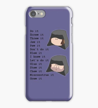 Game Grumps- Do It (Palpatine) iPhone Case/Skin