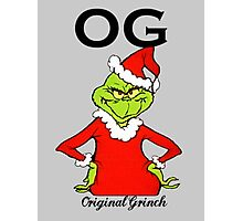 OG Original Grinch  Photographic Print