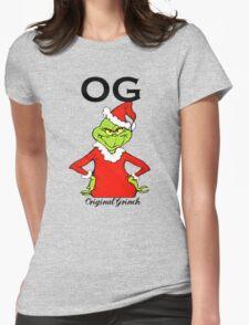 OG Original Grinch  Womens Fitted T-Shirt