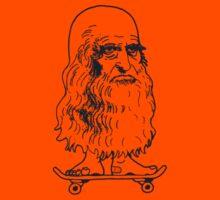 Leonado Skateboard Sml Blue by tiefholz