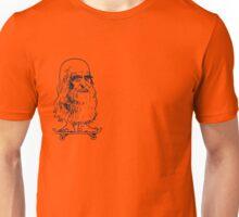 Leonado Skateboard Sml Blue Unisex T-Shirt