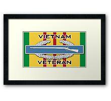 Vietnam CIB Framed Print