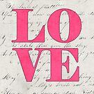 pink love by beverlylefevre