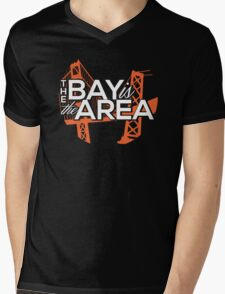 Bay Area Bridges Tee Mens V-Neck T-Shirt
