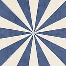 blue starburst by beverlylefevre