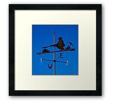 Weathervane Framed Print