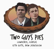 Two Guys Pies (Cas & Dean Version) by BrightPig