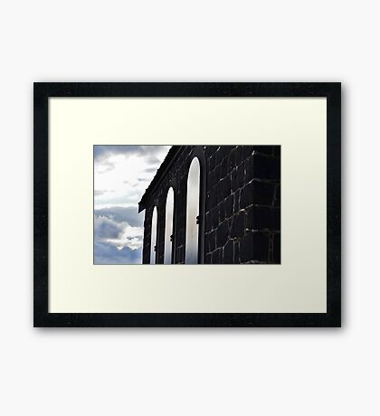 Locked Church Framed Print