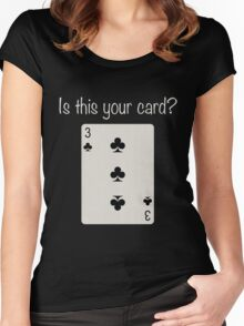 3 of Clubs Women's Fitted Scoop T-Shirt
