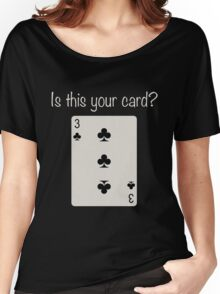3 of Clubs Women's Relaxed Fit T-Shirt