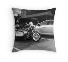 A Bike Throw Pillow
