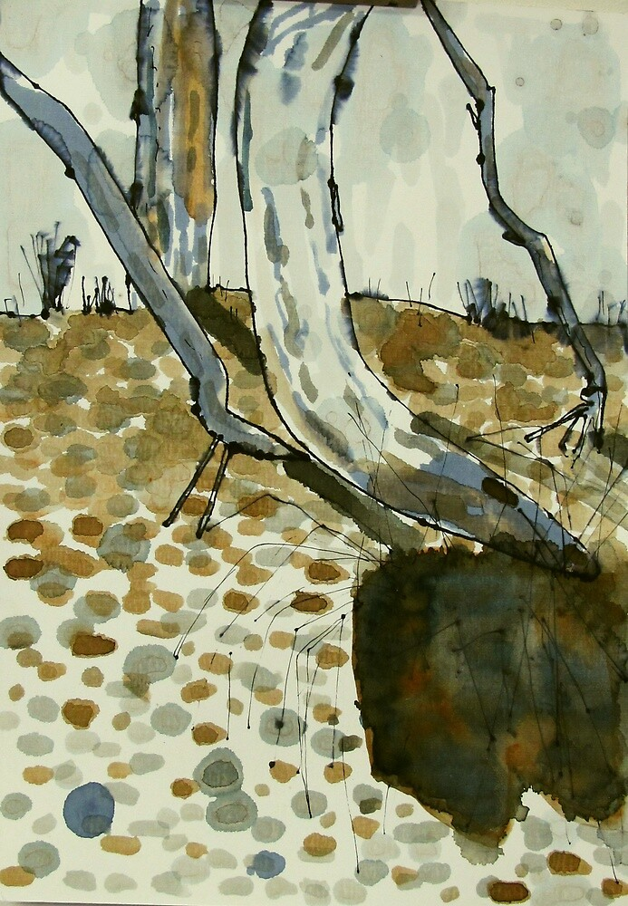 dry creek scape by donna malone