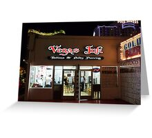 Vegas Ink Greeting Card