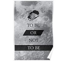 To Be or Not To BE Shakespeare Quotes Poster