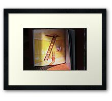 one page  Framed Print