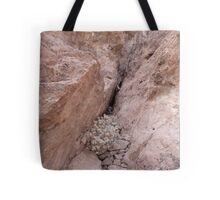Rocks Caught in a Crevass Tote Bag