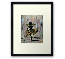 Dreams Bring Stages Framed Print