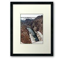 Hoover Dam Spectacular Framed Print