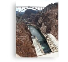 Hoover Dam Spectacular Canvas Print