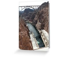 Hoover Dam Spectacular Greeting Card