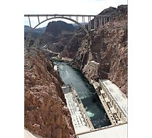 Hoover Dam Spectacular Photographic Print