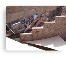 Hoover Dam Stairs Canvas Print