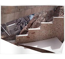 Hoover Dam Stairs Poster